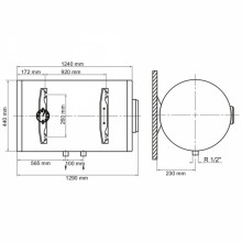 Бойлер ARTI WHH Dry 150L/2