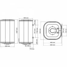 Бойлер ARTI WH Cube 120L/1