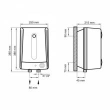 Бойлер ARTI WH Compact U 10L/1