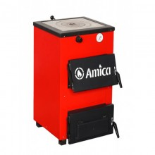 Твердопаливний котел Amica OPTIMA 18 P з конфоркою
