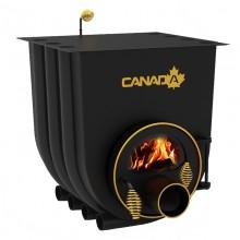 Булерьян CANADA 02 – 18 кВт (500 м3) с варочной поверхностью и стеклом