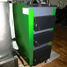 Твердопаливний котел PALCHE-19VA (зі зворушувачем і автоматикою)