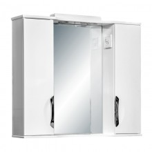 Зеркало ЛЮКС GZ (85,95) белое